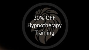 Hypnotherapy training discount special offer
