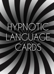 Hypnotic Language Cards HypnoTC The Hypnotherapy Training Company