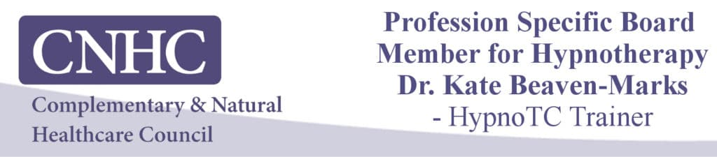 CNHC Board Member for Hypnotherapy