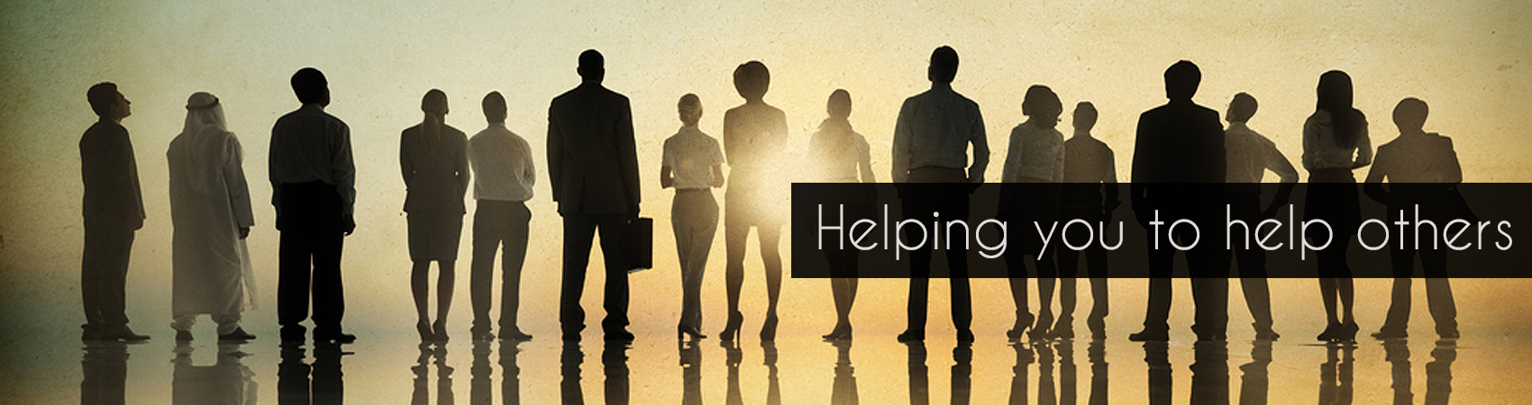 Helping you to help others
