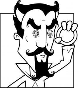 evil hypnotist or hypnotherapist