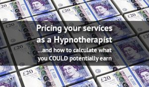 hypnotherapy wages