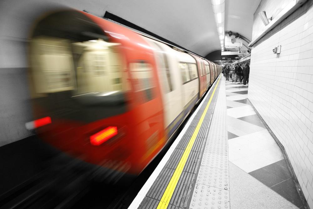 Tube to Embankment London