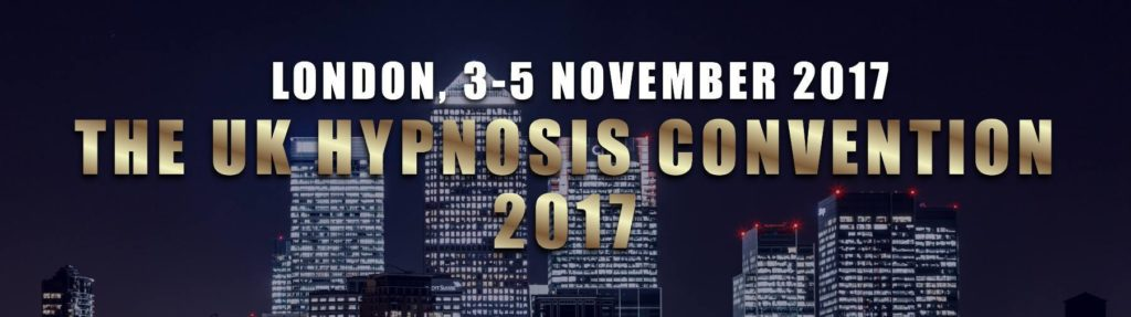 UK Hypnosis Convention 2017 hypnotherapy training