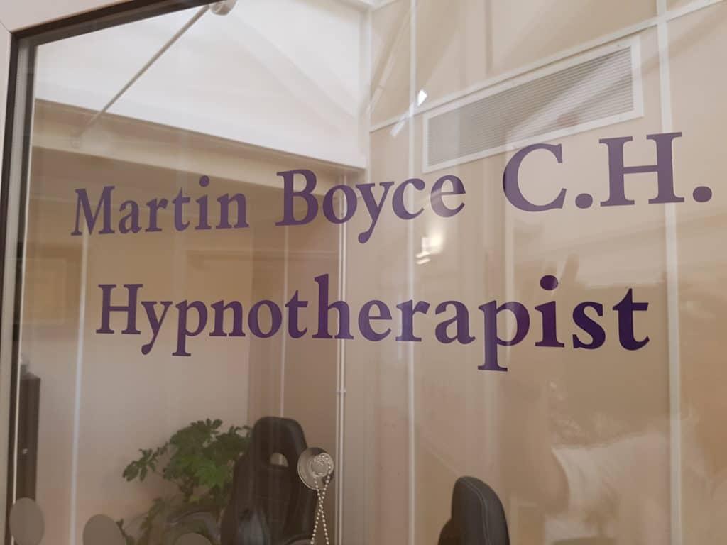Martin Boyce Hypnotherapist HypnoTC Graduate professional hypnotherapy course