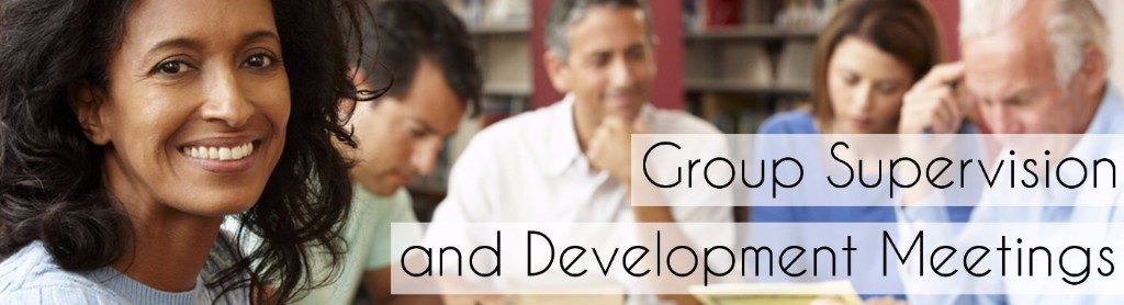group hypnotherapy supervision and development meetings London UK