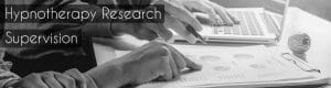 hypnotherapy research supervision