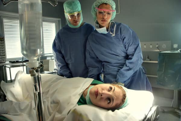 surgeon operation nervous anxiety hypnosis research breast surgery hypnotic sedation glove anaesthesia pain management