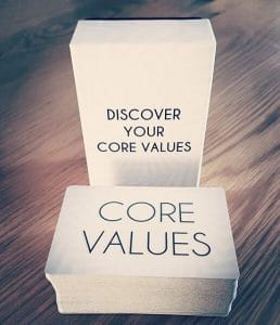 Core Values Cards Therapy Therapist Hypnotherapy Hypnotherapist Counsellor Counselling