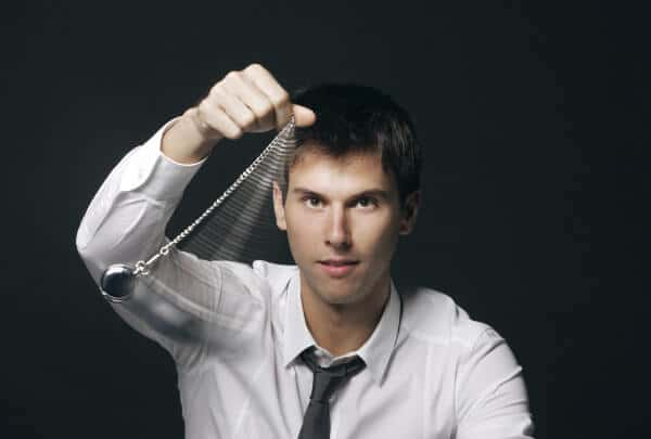 hypnosis testing pendulum ideo motor response