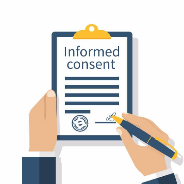 informed consent contract cartoon hypnotherapy