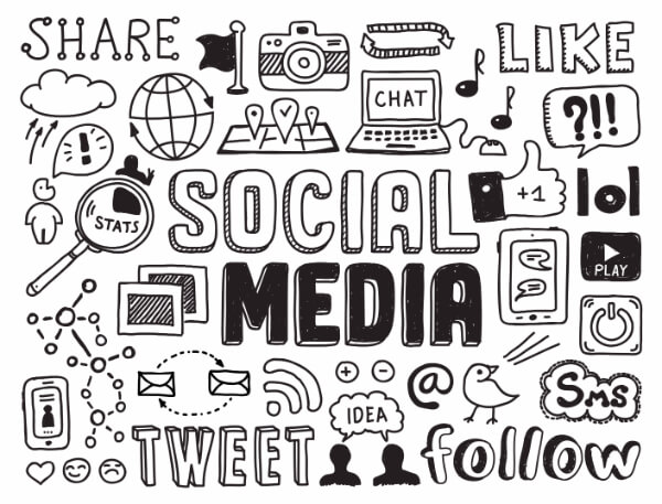 social media share like follow tweet hypnotherapy information hypnotherapist