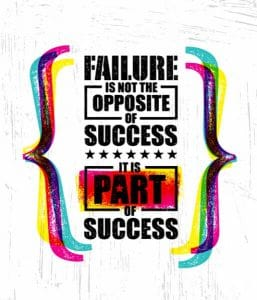 self-worth failure success quote
