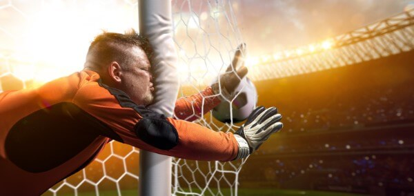 man sport goal post fail pain hit therapy goal hypnotherapy optimise time management