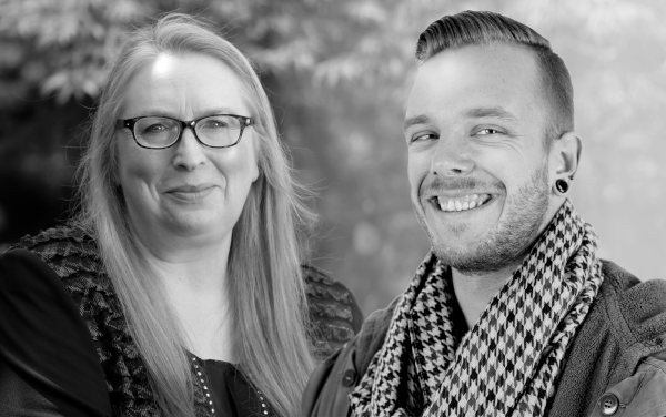 Rory Z Fulcher and Dr Kate Beaven-Marks - your hypnotherapy tutors