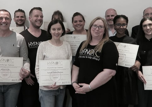 Hypnotherapy Diploma Graduates at HypnoTC's hypnotherapy school.