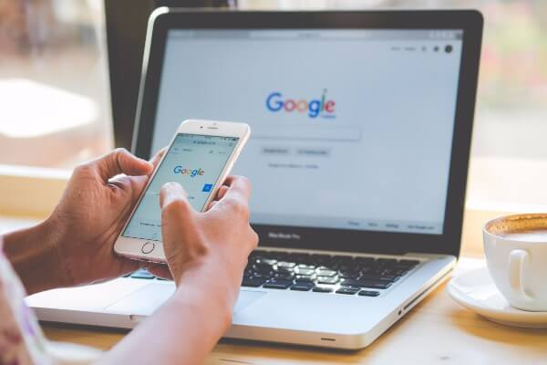 Client searching google for hypnotherapy blog posts