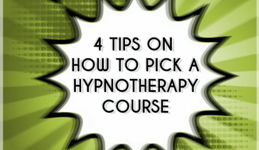 4 tips on how to pick the best hypnotherapy training course