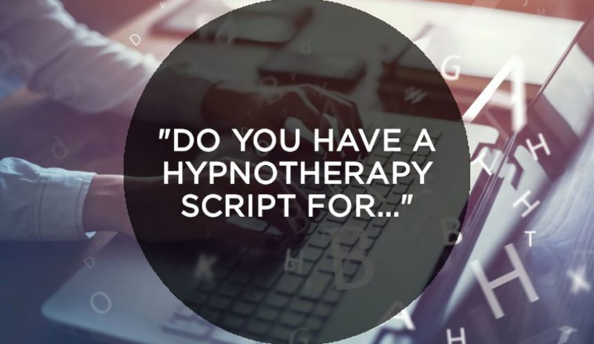 Do you have a hypnotherapy script for