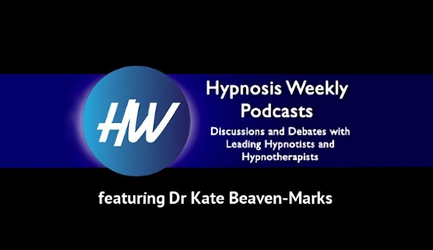 Dr Kate featured on Adam Eason's 'Hypnosis Weekly' podcast