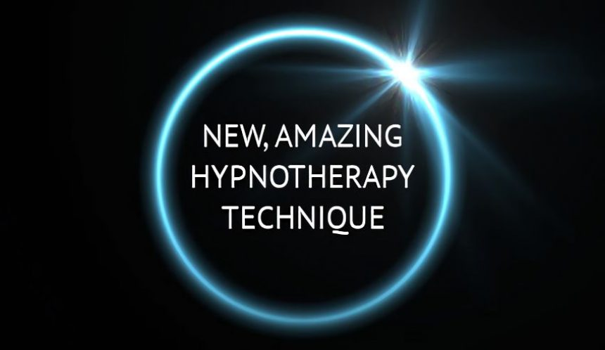Exciting new hypnotherapy technique announcement!