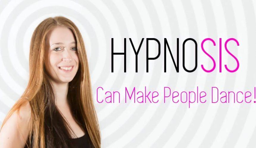 HypnoTC trained hypnotherapist makes clients dance!