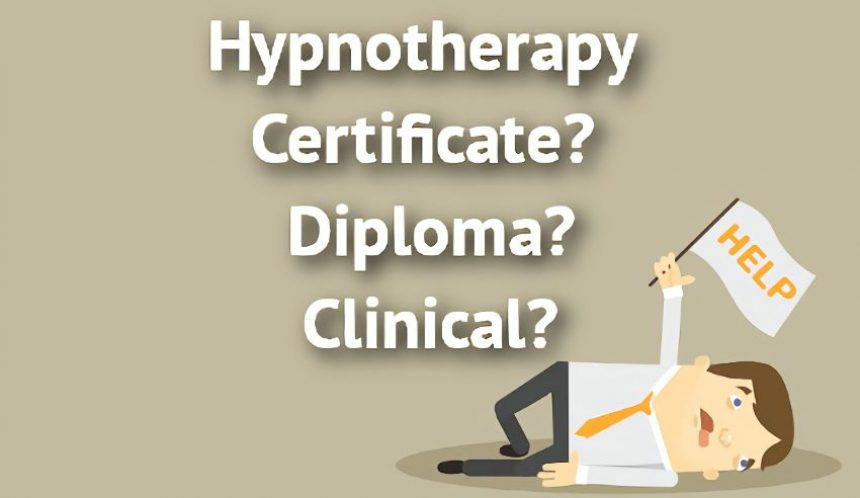 Hypnotherapy Diploma or Clinical Hypnotherapy Training
