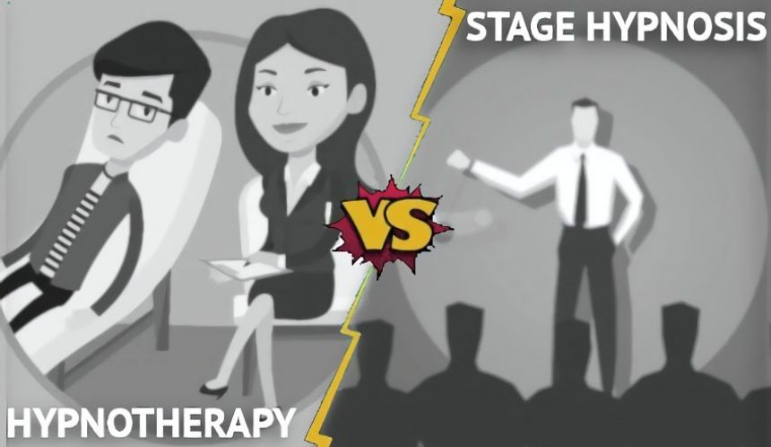 Hypnotherapy vs stage hypnosis