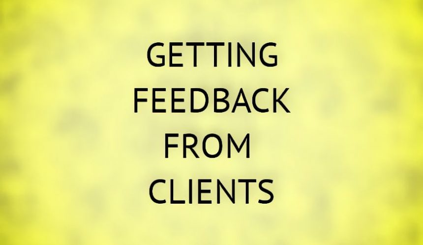 Improve your therapy practice by getting client feedback