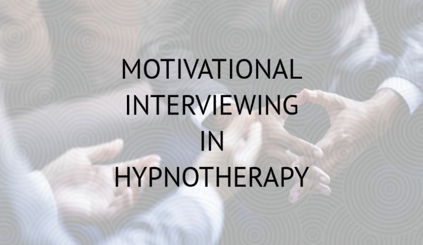 Motivational interviewing in hypnotherapy