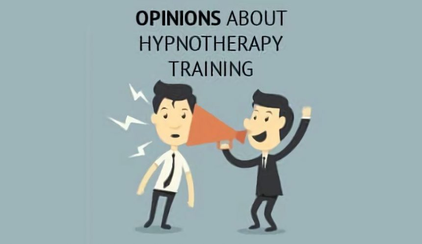 Opinions about hypnotherapy training