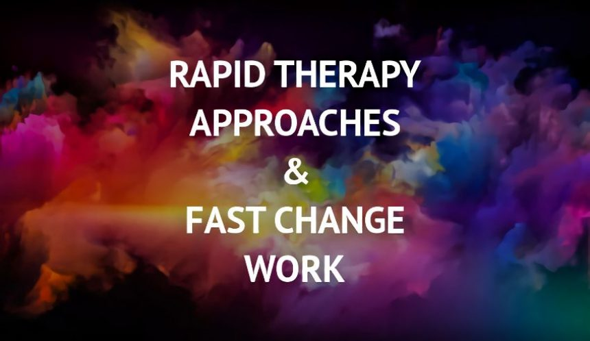 Rapid therapy approaches