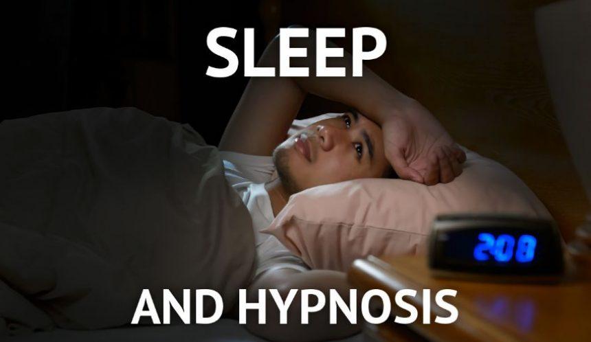 Sleep and hypnosis