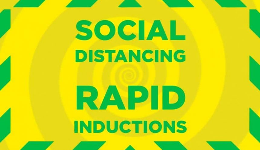 Social distancing rapid inductions
