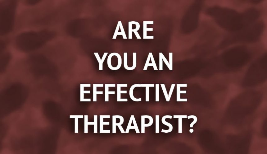 The effective hypnotherapist – is what you are doing working