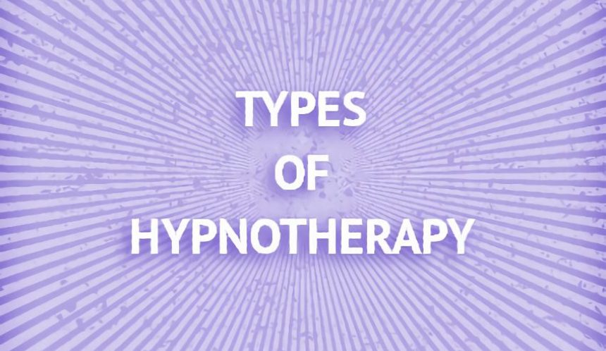 Types of hypnotherapy