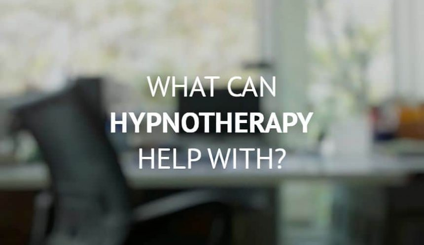 What can hypnotherapy help with