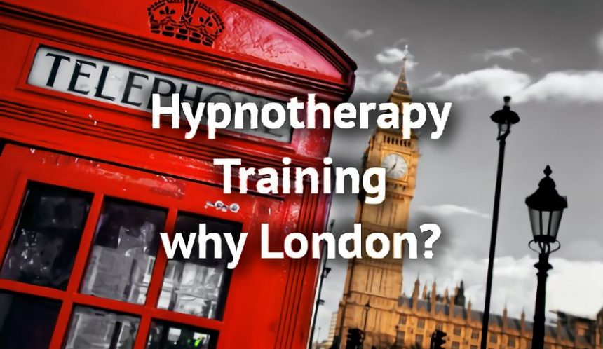 Why HypnoTC only do Hypnotherapy Training in London