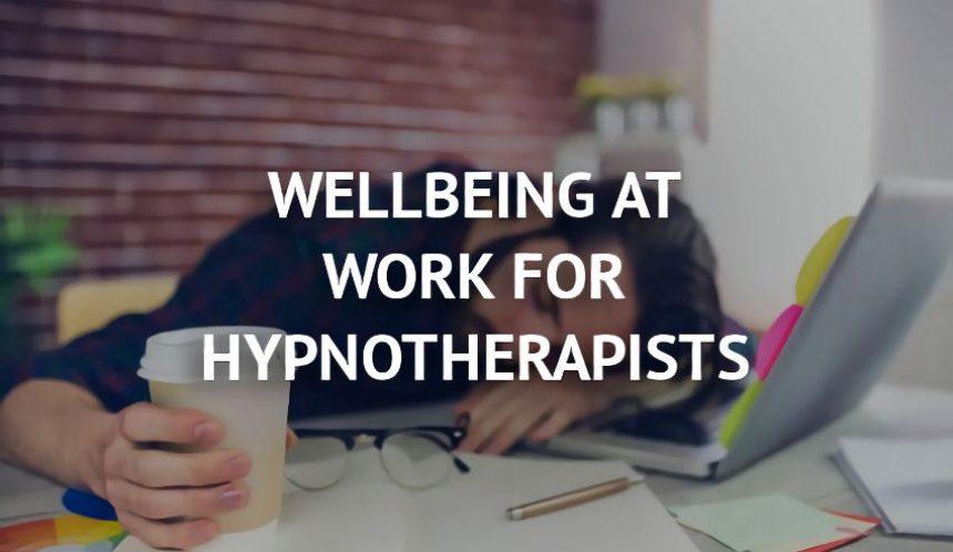 wellbeing at work hypnotherapist